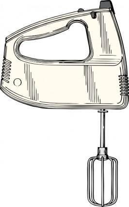 Hand Mixer clip art