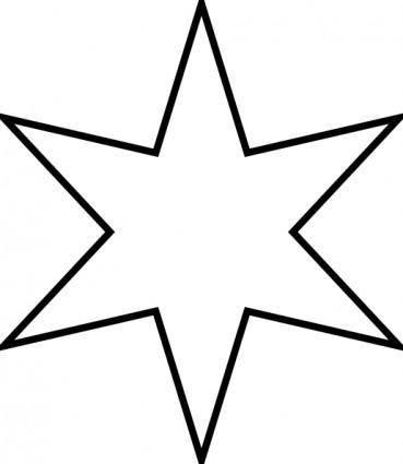 free vector Marian Star clip art
