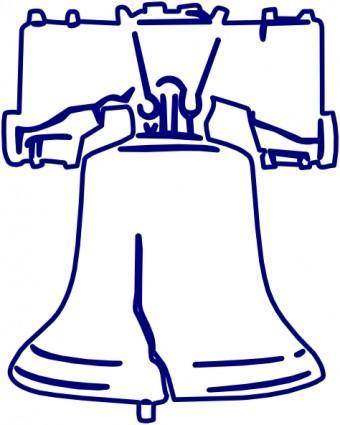 Lakeside Liberty Bell clip art
