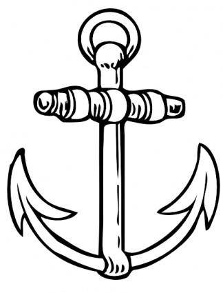 free vector Anchor clip art