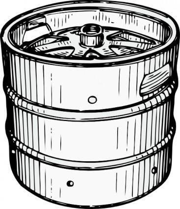 Beer Keg clip art