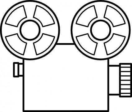 Old Tape Camera clip art