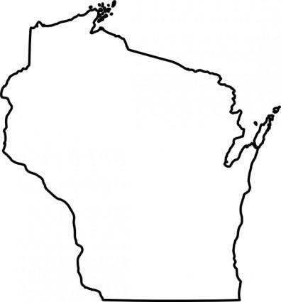 free vector Wisconsin clip art