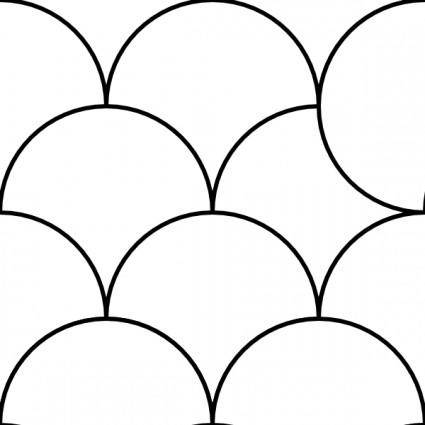 free vector Circles Pattern Tile clip art