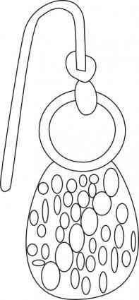 Ear Ring clip art