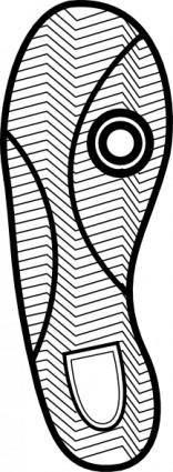 Shoe Print clip art