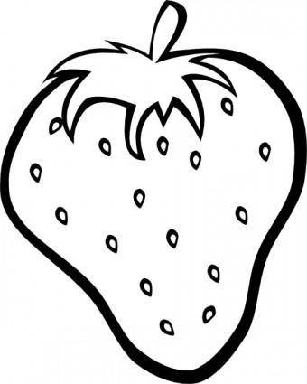 Strawberry clip art 108808