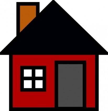 Small House clip art