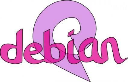 Debian Sign clip art