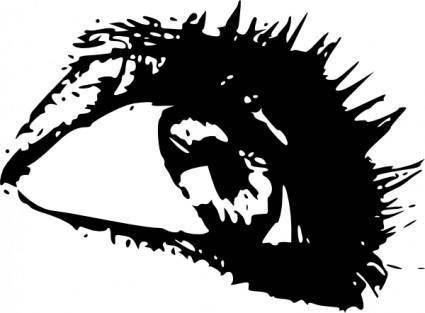 free vector Woman Eye clip art