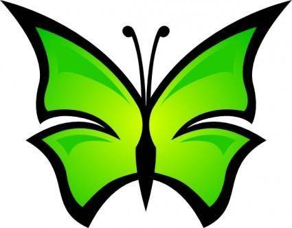 free vector Abstract Butterfly clip art