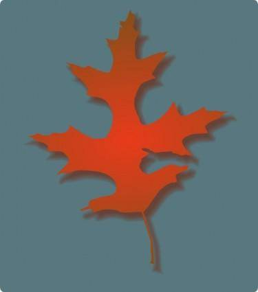 Oak Leaf Autumn clip art