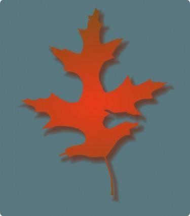 free vector Oak Leaf Autumn clip art