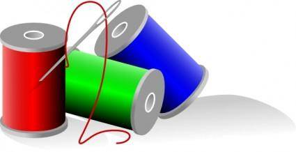 Thread Rolls clip art