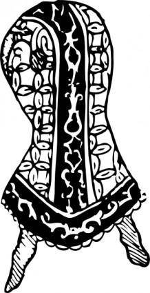 Gauntlet Of Sir Henry Lee clip art