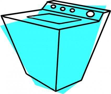 free vector Washing Machine clip art