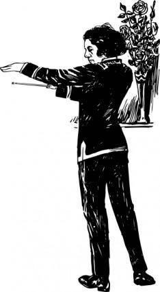 Maestro clip art