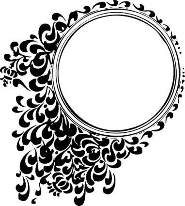 Filigree Circle clip art