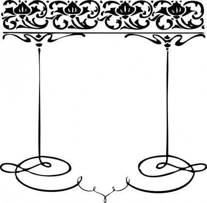 free vector Decorative Frame clip art