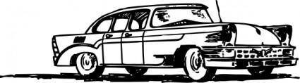Russian Car Zil clip art