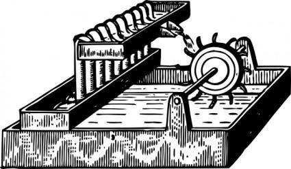 Perpetual Motion Machine clip art