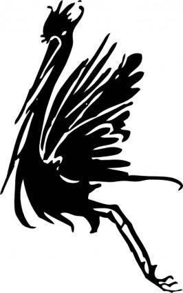 Stork clip art