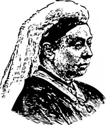 Queen Victoria clip art