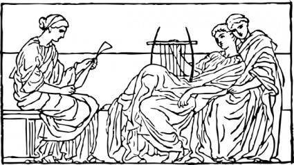 Roman Relief clip art