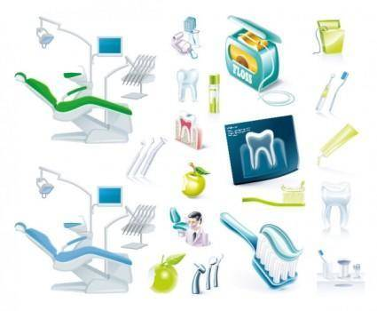 Dentists theme vector