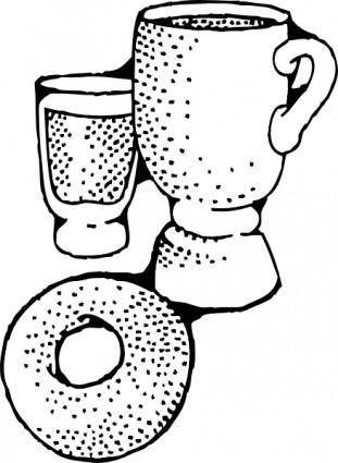 Continental Breakfast clip art