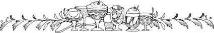 Desserts clip art