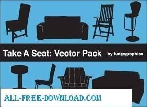 free vector Furniture Vectors