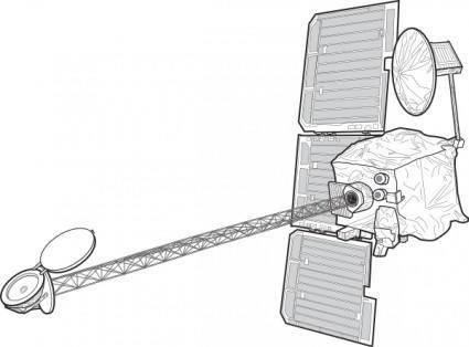 Mars Orbiter clip art