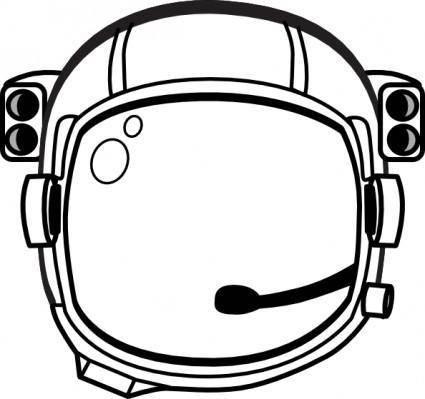 Astronaut S Helmet clip art