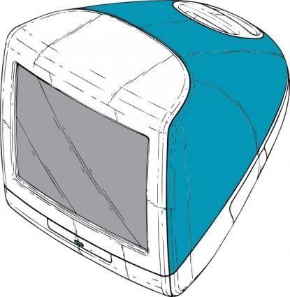 free vector Original Imac clip art