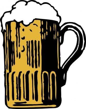 free vector Foamy Mug Of Beer clip art