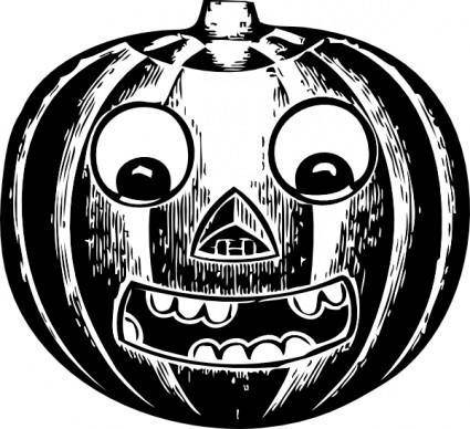 free vector Jack O Lantern With Eyes clip art