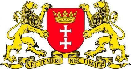 Gdansk Coat Of Arms clip art