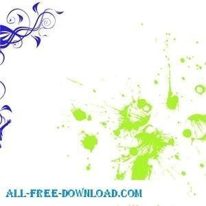 Free Splats Vectors