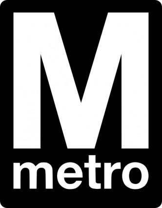 free vector Metro Logo clip art