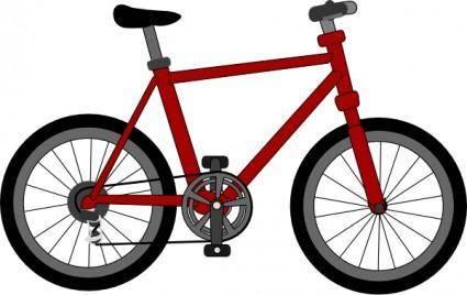free vector Lescinqailes Bicycle clip art