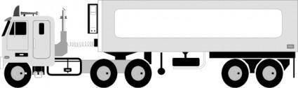 Big Truck clip art