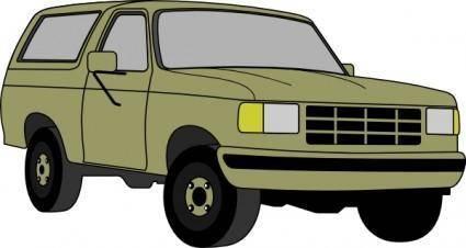 Chevrolet Blazer clip art