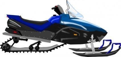Snowmobile  clip art