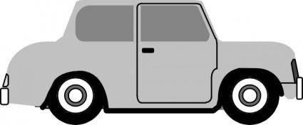 free vector Vintage Old Cartoon Car clip art