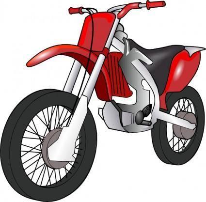 Motobike clip art