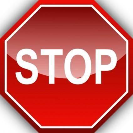 free vector Ernes Stop clip art