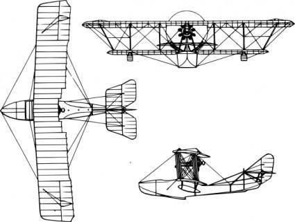 Grigorovich Aircraft clip art