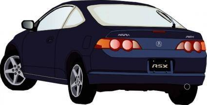 free vector Acura Car clip art