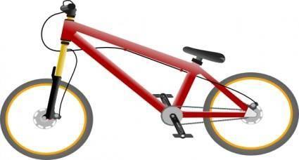 Bicycle Bike clip art